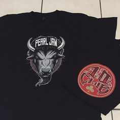 """New merch is now available in the Shop. Discover more at PearlJam.com """"@pearljam.ten: Scored a couple of new tees."""" #PearlJam #TenClub"""