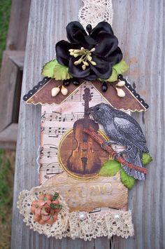 Bird House Tag - Scrapbook.com