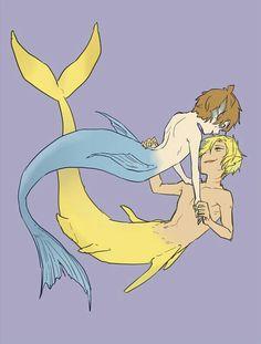 Mermaid love !!!
