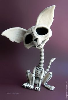 Taco Bell Skeleton Chihuahua