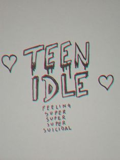 Teen Idle - Marina + The Diamonds