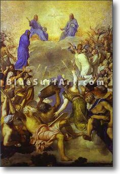 The Trinity in Glory - £124.99 : Canvas Art, Oil Painting Reproduction, Art Commission, Pop Art, Canvas Painting