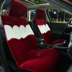 Car seat cushion artificial fur universal car seat covers fundas sportage Ceed Rio Qdshqai Quoris Cerato Sorento Picanto Soul