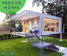 Change the way you live with prefab homes from Green-R-Panel.