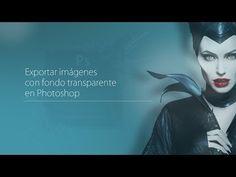 Cómo guardar imágenes sin fondo PNG en Photoshop | HD | Tutorial en Español - YouTube