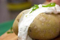 Kartoffel mit Sour Cream