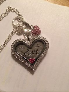 New Origami Owl locket with limited edition Love plate!