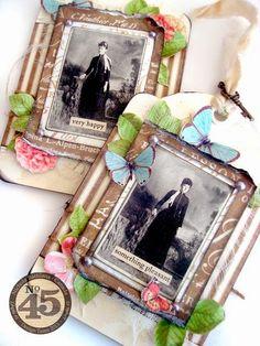 Pixie Hill: Pretty Botanical Tea Tags