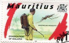 Francobolli . Lotta contro la malaria - Malaria on Stamps Mauritius 1999