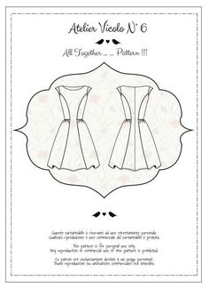 All Together Pattern!!! - Il Blog di Atelier Vicolo N°6 - Come to download for free the pattern http://ateliervicolon6.jimdo.com/2015/07/25/all-together-pattern/443798024/