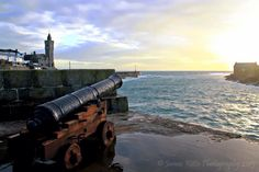 Porthleven Harbour sunset #Porthleven #cornwall @CornishSunsets