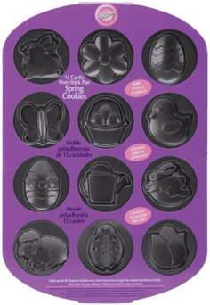 Wilton 409032 NonStick Cookie PanSpring 12 Cavity * Learn more by visiting the image link.