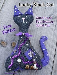 Spirit Cat Pattern f
