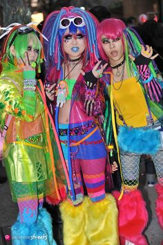 Cyber girls from japanesestreets.com