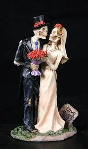 Love Never Dies Wedding Couple Figurine