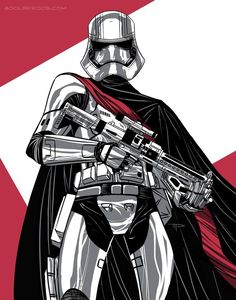 Captain Phasma by 800PoundProductions on DeviantArt