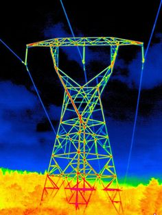 Thermography of Transmission Line