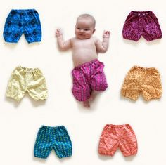 Inspiration only - no pattern - link broken. See baby pants.
