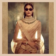Just in case your feeling in the mood for a little Sabyasachi. this special little number is in store now looking for a home! Indian Wedding Jewelry, Indian Bridal, Bridal Jewelry, Indian Jewelry, Indian Attire, Indian Wear, Indian Style, Indian Ethnic, Indian Dresses