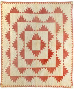 Delectable Mountains  1875-1900  New England Quilt Museum