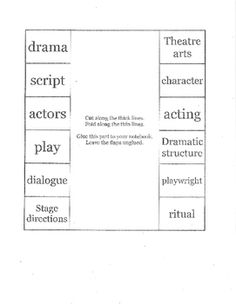 1000 images about theatre in the classroom on pinterest theatres monologues and dramas. Black Bedroom Furniture Sets. Home Design Ideas