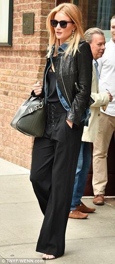 Best foot forward: Rounding off her look with a pair of open-toed stilettos, the British beauty added subtle definition to her figure