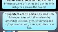 Supertech Ecociti Resale (9910002540) Price Noida Sector 137, Ready To Move - Funny Videos at Videobash