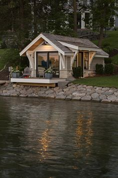 Minimalist House Design, Small House Design, Dream Home Design, Cottage Design, Bedroom Minimalist, Container Home Designs, Best Tiny House, Small House Plans, Patio Grande