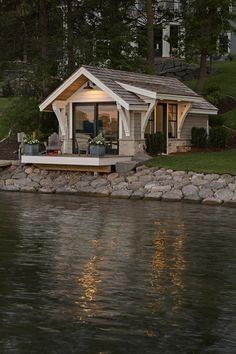 Cottage Design, Small House Design, Dream Home Design, Container Home Designs, Best Tiny House, Small House Plans, Minimalist House Design, Minimalist Home, Bedroom Minimalist