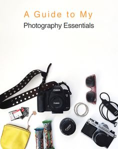 What's in my camera bag? I'm sharing my photography essentials over at eBay today.