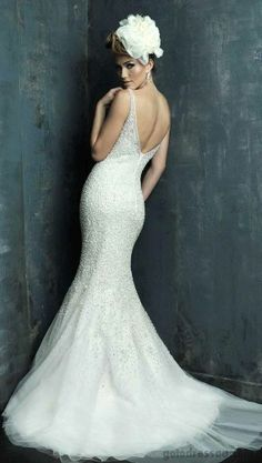 Allure Bridals Wedding Gowns @ Catan Fashions in Strongsville OH | The largest bridal salon in the country | Find the dress of your dreams | www.catanfashions.com  #CatanBride #AllureBridals #Brides2014