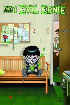 Horror Comic Book News - Comic Monsters - Evil Ernie in October