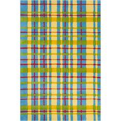 Allie Handmade Geometric Wool Rug (5' x 7'6) | Overstock.com