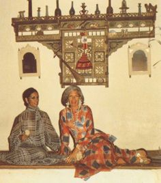 The Polyglot: Style Icons Iris Apfel, Elsa Schiaparelli & Diana Vreeland in Tunis