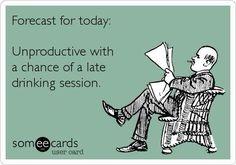 Forecast for everyday...