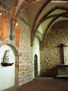 France ; Mont Saint-Michel : l'abbaye ; la chapelle de Saint-Étienne - PIETÀ