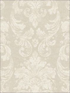 Damask Wallpaper.  For the dining room.