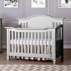 Evolur Fairbanks 5-in-1 Convertible Crib Dove Grey