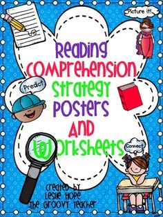 Reading Comprehension Strategy Posters  and Printables