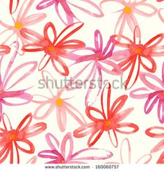 Watercolor Flowers Stock Photos, Images, & Pictures | Shutterstock