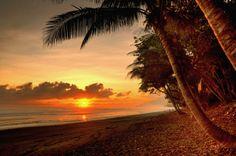 #Sunset #Beach #CostaRica #CorcovadoNationalPark #Travel #Opodo