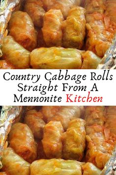Country Cabbage Rolls Straight From A Mennonite Kitchen #Country #Cabbage #Rolls #Straight #From #A #Mennonite #Kitchen