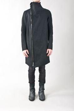 Boris Bidjan Saberi - felted wool coat