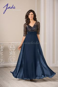 Elegant Mother of the bride or groom dresses Jade by Jasmine J185015 Jade by Jasmine Plus Size, Homecoming & Prom Dresses for Sale in Fall River MA | Party Dress Express