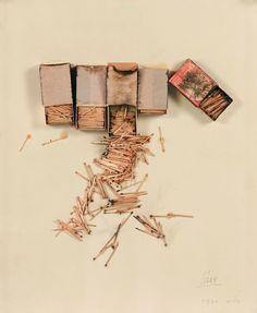 Pastel   Pastello   淡色の   пастельный   Color   Texture   Pattern   Composition   mixed media. César Baldaccini, 1970