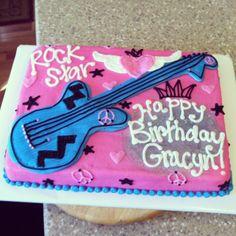 Rock Star Birthday Cake