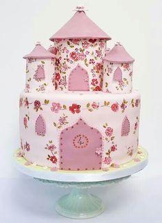 Flower Castle-torta castello di principessa