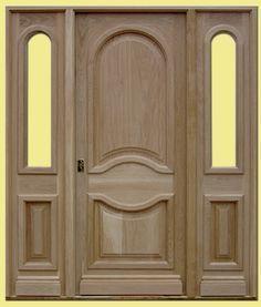 Puertas madera maciza - Puertas y Ventanas BECARTE