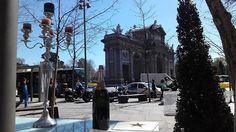 Frente a la Puerta de Alcalá #madrid #terraza #business #businesshotel #enjoybusiness