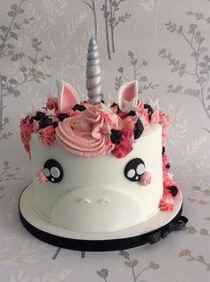 Unicorn cake I made recently